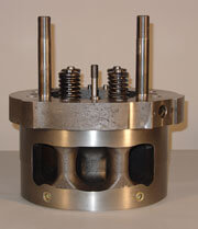 EMD CYL HEADS WITH VALVES