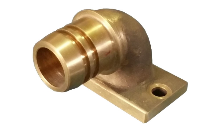 EMD ELBOW WATER OUTLET